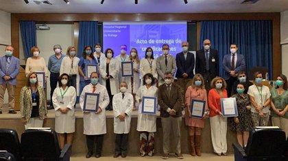 Agencia de Calidad Sanitaria eleva un 28% su actividad certificadora de competencias profesionales en 2020 pese a Covid
