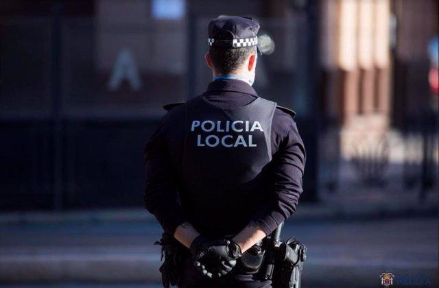 Agente de la Policía Local de Melilla