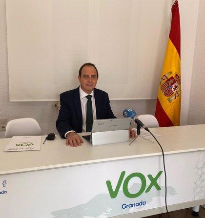 """Ocaña critica """"la falta de compromiso"""" de la Junta con los acuerdos para Granada firmados con Vox"""
