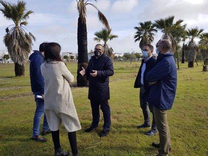 Los Palacios (Sevilla) ampliará y regenerará el parque de las Marismas con fondos del Plan Contigo