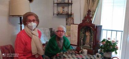 Aparece la capilla portátil desaparecida en Montefrío (Granada) desde el confinamiento de marzo
