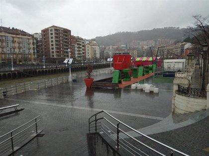 Precipitaciones abundantes y descenso de las temperaturas este sábado en Euskadi