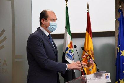 """El PP lamenta que el PGEx para 2021 es el """"más inútil"""" ante el """"colapso"""" que sufre Extremadura por la pandemia"""