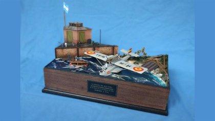 Tablada incorpora a su Sala Histórica de Sevilla un diorama del Plus Ultra en el 95 aniversario de la hazaña
