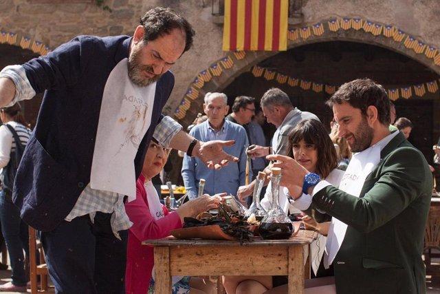 Fotograma de 'Ocho Apellidos Catalanes'