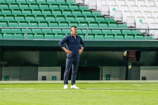 Jorge Almirón, entrenador del Elche CF