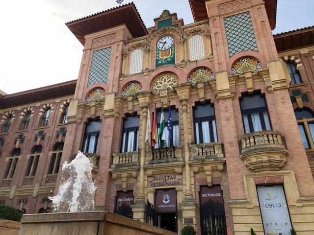 Rectorado de la Universidad de Córdoba, en una imagen de archivo.