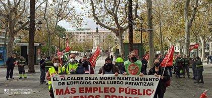 """CCOO avisa de """"falta de materiales y personal"""" en el servicio municipal de Mantenimiento con más de 80 vacantes"""
