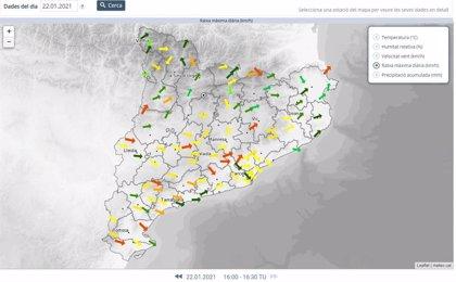 Protección Civil de la Generalitat da por finalizada la Alerta del Plan Ventcat