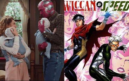 WandaVisión: ¿Cómo se llaman los hijos de Bruja Escarlata y Visión en los cómics y qué poderes tienen?