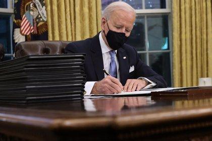 Biden mantiene sus primeras conversaciones como presidente con Trudeau y López Obrador