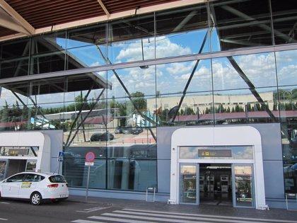 El aeropuerto de Zaragoza, segundo en carga en 2020