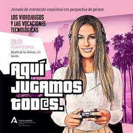 El IAM analiza la situación de las mujeres en la industria de los videojuegos en la jornada 'on line' 'Aquí jugamos tod@s'