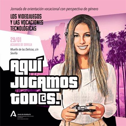 IAM analiza la situación de las mujeres en la industria de los videojuegos en la jornada 'on line' 'Aquí jugamos tod@s'