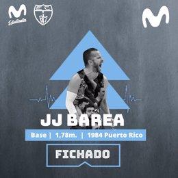 El base NBA JJ Barea, nuevo jugador de Movistar Estudiantes