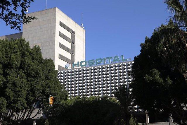 Imágenes de recurso del Hospital Materno Infantil de Málaga, a 29 de octubre de 2019.