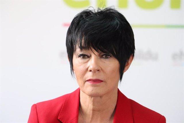 La portavoz parlamentaria de EH Bildu, Maddalen Iriarte