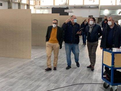 El hospital de campaña de Badajoz estará listo para recibir pacientes si fuera necesario a final de mes