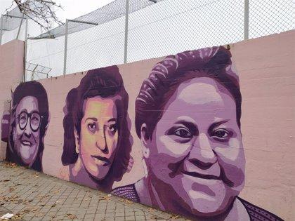 Más Madrid pedirá como medida cautelar que el mural feminista de Ciudad Lineal se mantenga hasta resolverse el recurso