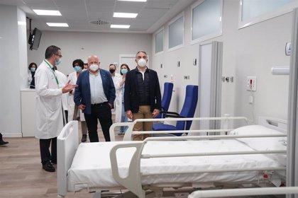Presentan las mejoras de quirófanos de Urgencias, Oncología, Alergología y Audiometría del Virgen Macarena de Sevilla