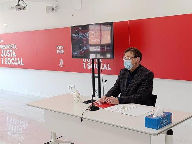 El president de la Generalitat valenciana, Ximó Puig