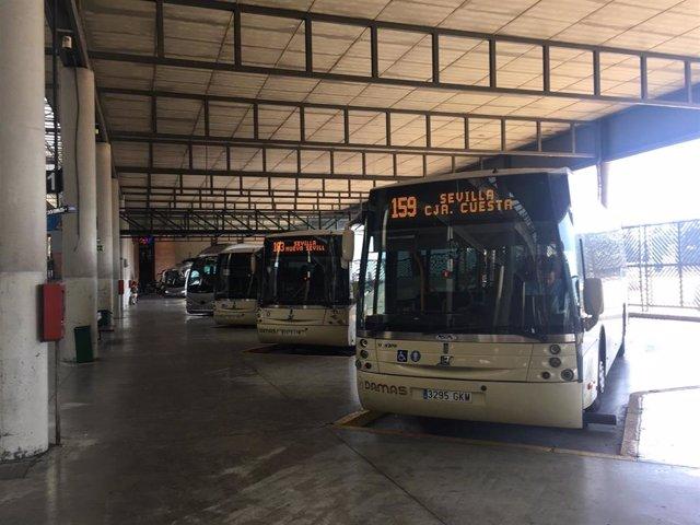 El Consorcio de Transporte de Sevilla refuerza once líneas para atender la demanda en la crisis del Covid