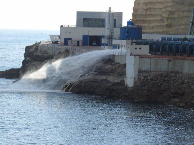 Una avería en la Planta Desalinizadora de Melilla obliga a cortes de agua nocturnos en toda la ciudad