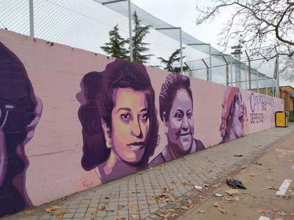 Más de 20.000 firmas piden que no se borre un mural feminista en Madrid