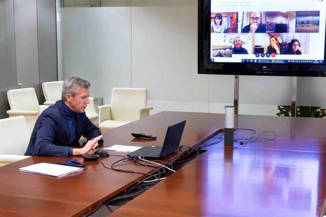 Fotos Xunta / Vicepresidente Primeiro / Representantes De Asociacións De Empresarios De Hostalería E Restauración