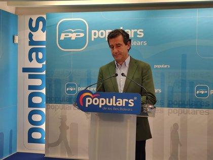 El PP rechaza la propuesta de Vox Baleares y no presentará una moción de censura contra Armengol