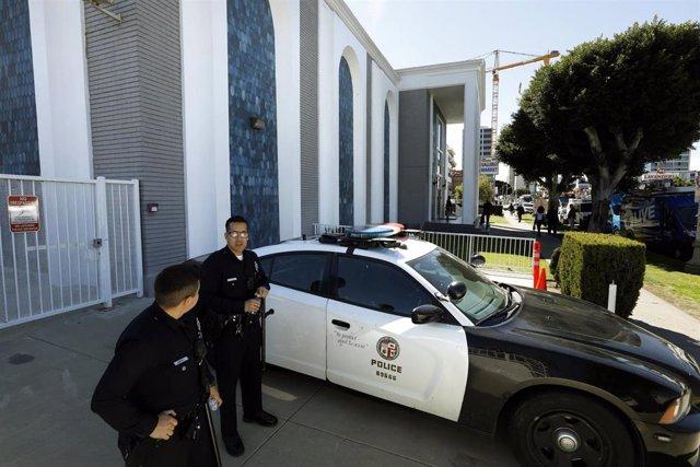 Imagen de archivo de la Policía de Los Ángeles