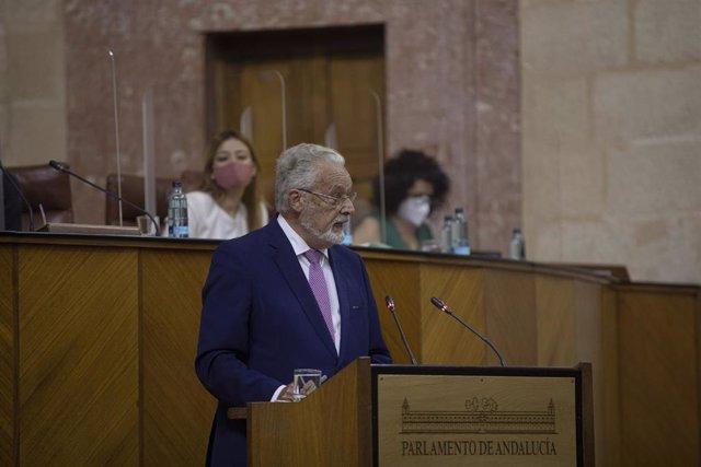 Comparecencia del Defensor del Pueblo Andaluz, Jesús Maeztu