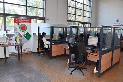 El Servicio de Teleasistencia de la Junta de Andalucía ha gestionado más de seis millones de llamadas durante 2020