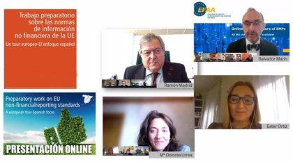 Cuatro economistas murcianos participan en el análisis de la 'Información no financiera en la UE'