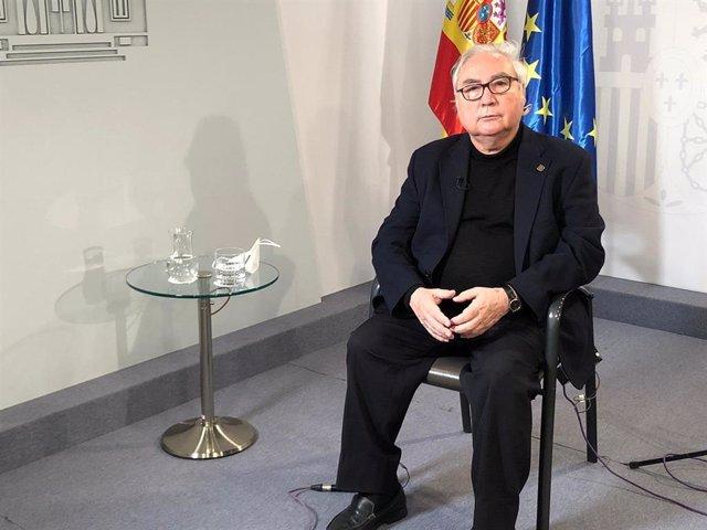El ministre de Universitats, Manuel Castells