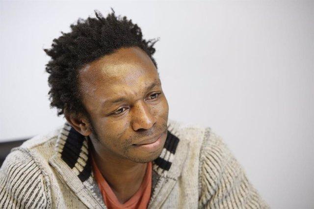 El fundador de NASCO Feeding Minds, Ousman Umar, en una fotografia d'arxiu cedida per l'entitat.