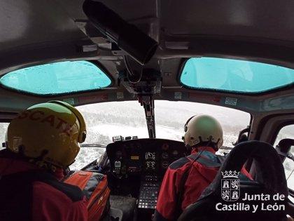 Rescatados cinco montañeros desorientados en el pico Mencilla (Burgos)