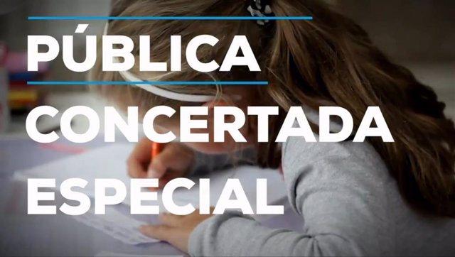 """El PP lanza una campaña por una educación """"de calidad y libre"""" en la escuela pública, concertada y especial"""