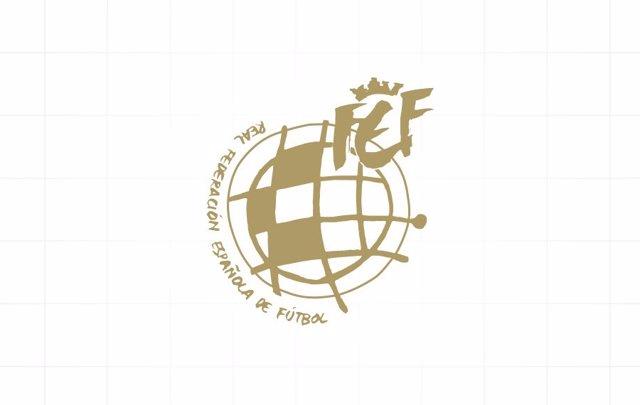 Logotipo de la Real Federación Española de Fútbol (RFEF).