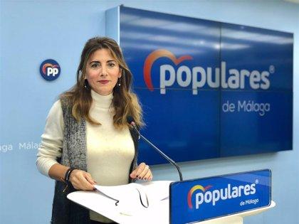 """Mata (PP-A) dice que """"los grandes servicios que presumía el PSOE"""" como educación y sanidad """"han sido un claro fraude"""""""