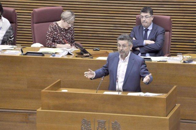 El portavoz socialista en la Comisión de Asuntos Europeos, Manuel Pineda