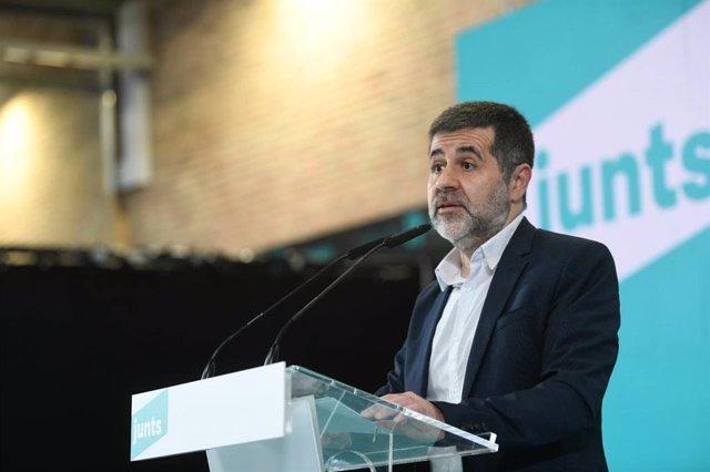 El secretari general de JxCat i condemnat per l'1-O, Jordi Sànchez.