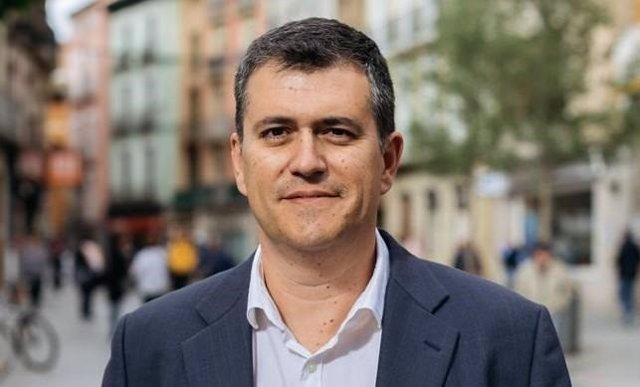 El presidente de CHA, Joaquín Palacín.