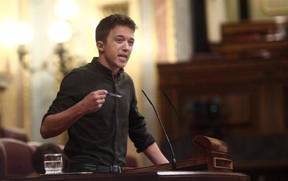 """Errejón pide a Sánchez que reaparezca y publique protocolos de vacunación: """"Es una vergüenza, tiene que rendir cuentas"""""""