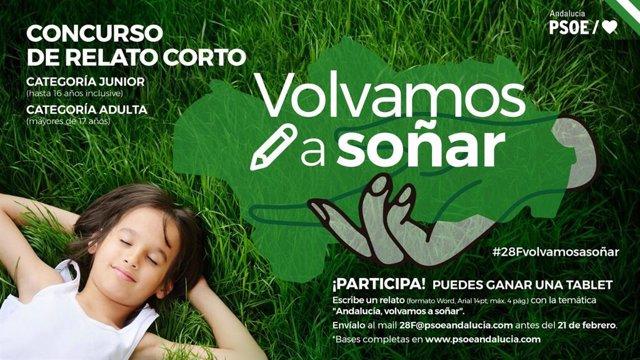 El PSOE-A convoca un concurso de fotografía en Instagram y de relatos cortos con motivo del 28F.