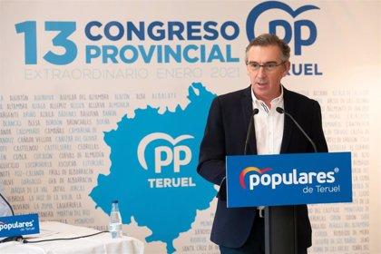 Beamonte (PP) urge un plan de choque económico real y global para proteger al tejido empresarial aragonés