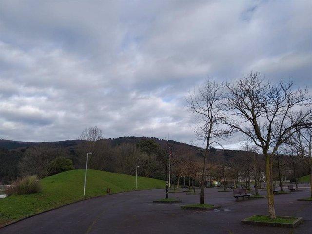 Cielos nublados en Euskadi.