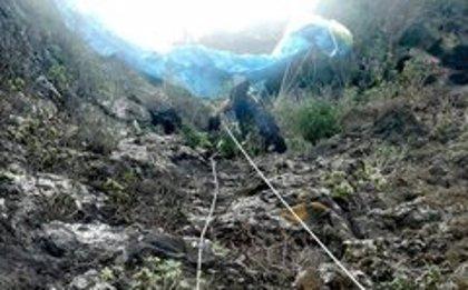Fallece un parapentista tras sufrir una caída en Garachico