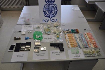Cuatro detenidos en Ávila en posesión de 650 gramos de cocaína y 100 de hachís