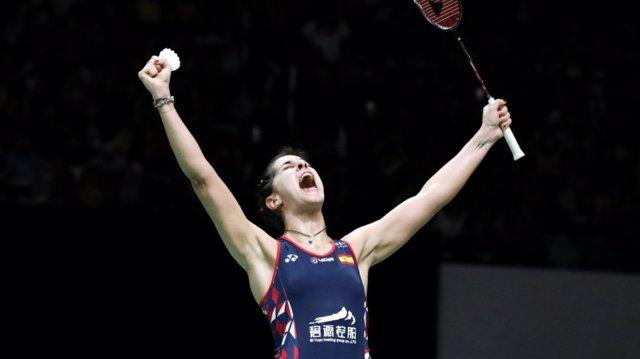 La jugadora espanyola de bàdminton Carolina Marín
